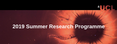 UCL Institute of Ophthalmology (IOO) Summer Research Programme